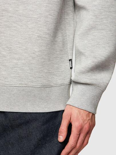 Diesel - S-KRIB, Grey - Sweatshirts - Image 4