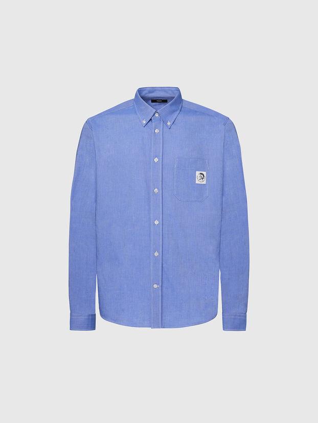 S-JAMES, Blue - Shirts