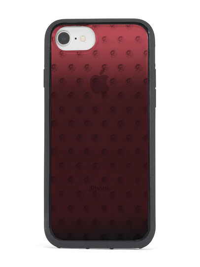 Diesel - MOHICAN HEAD DOTS RED IPHONE X CASE, Red - Cases - Image 4