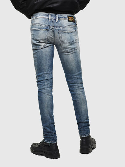 Diesel - Sleenker 0098D, Light Blue - Jeans - Image 2