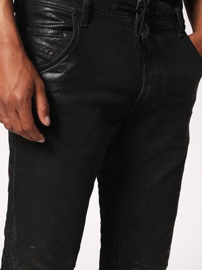 Diesel - Krooley JoggJeans 084JB, Black/Dark grey - Jeans - Image 8