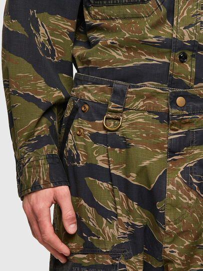 Diesel - P-BARTON, Verde Militar - Pantalones - Image 4