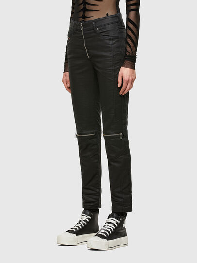 Diesel - D-Joy Slim JoggJeans® 069TT, Black/Dark Grey - Jeans - Image 7