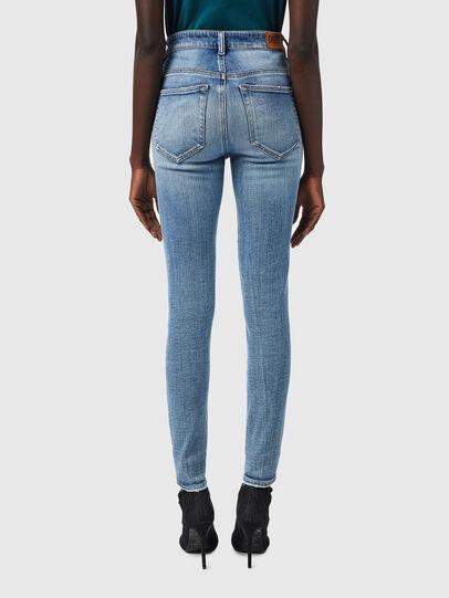 Diesel - Slandy High Skinny Jeans 09B09, Light Blue - Jeans - Image 2