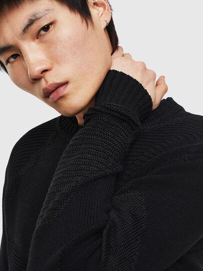 Diesel - K-CAMMY, Black - Sweaters - Image 4