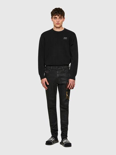 Diesel - D-Amny Skinny Jeans 009ID, Black/Dark Grey - Jeans - Image 5