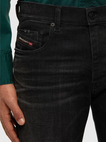 Diesel - D-Strukt Slim Jeans 0098B, Black/Dark Grey - Jeans - Image 3