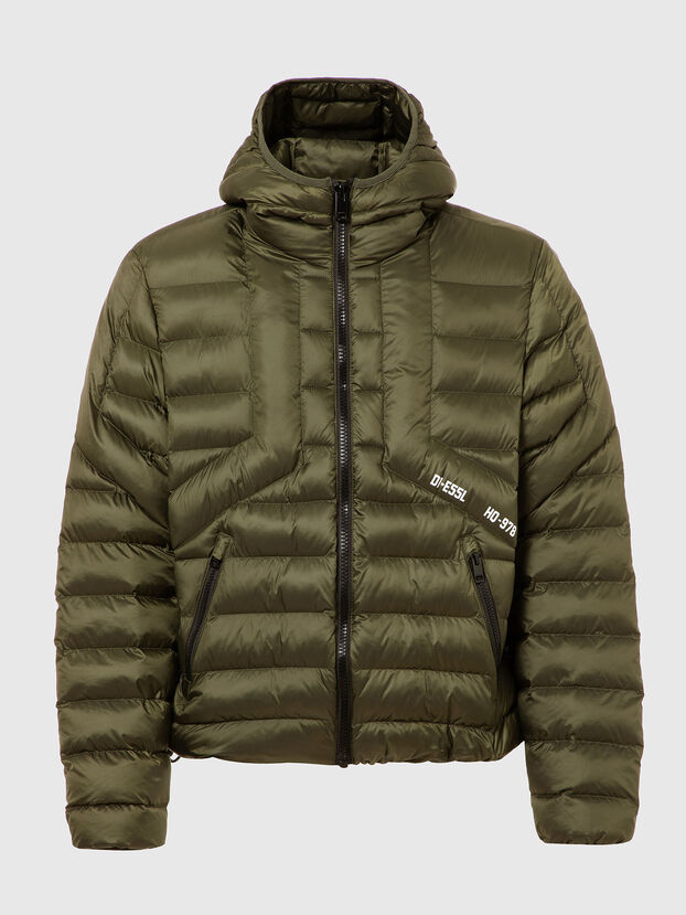 W-DWAIN, Military Green - Winter Jackets