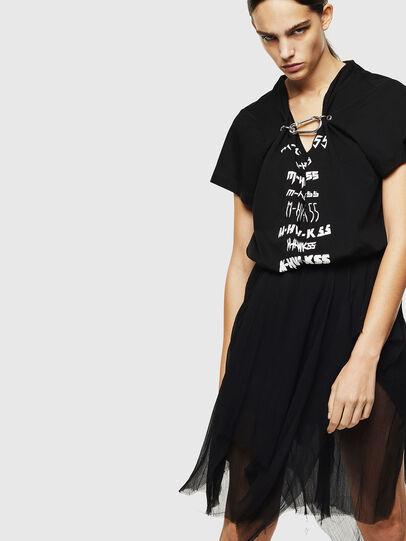 Diesel - D-CERYL-B, Black - Dresses - Image 1