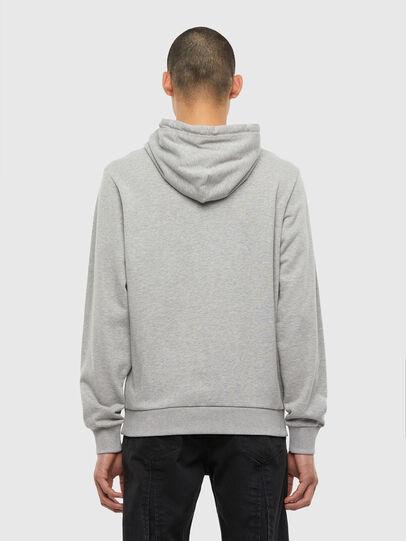 Diesel - S-GIRK-HOOD-N1, Grey - Sweatshirts - Image 3