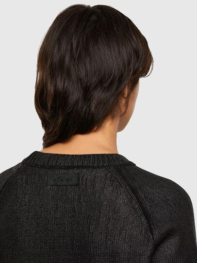 Diesel - M-NADYA, Black - Sweaters - Image 4