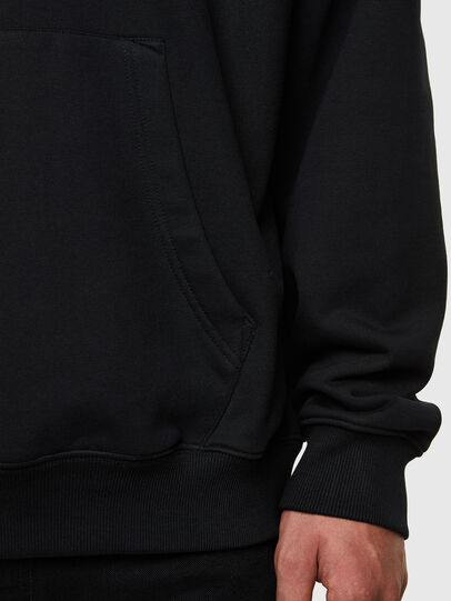 Diesel - S-UMMEREL, Black - Sweatshirts - Image 4