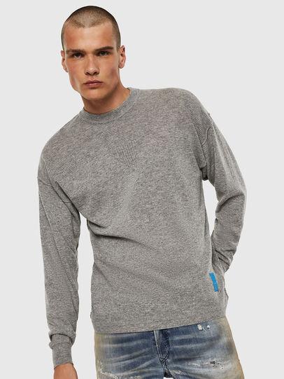 Diesel - K-LETO, Grey - Sweaters - Image 1