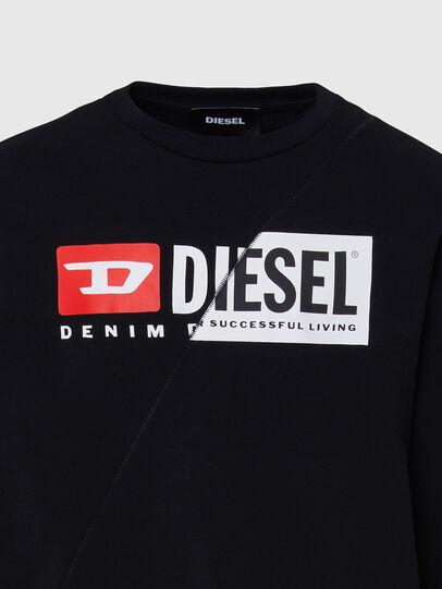 Diesel - S-GIRK-CUTY, Black - Sweatshirts - Image 3