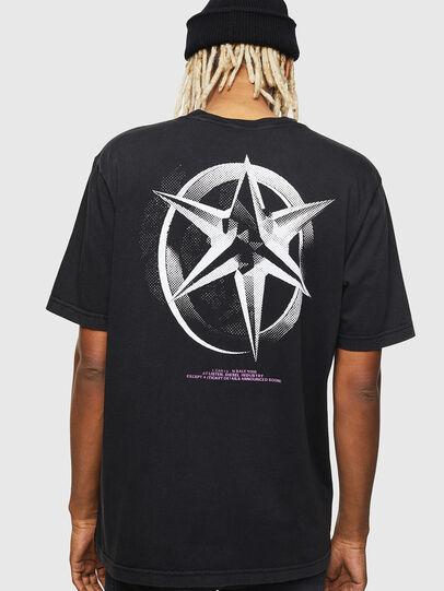 Diesel - T-JUST-J17, Black - T-Shirts - Image 2