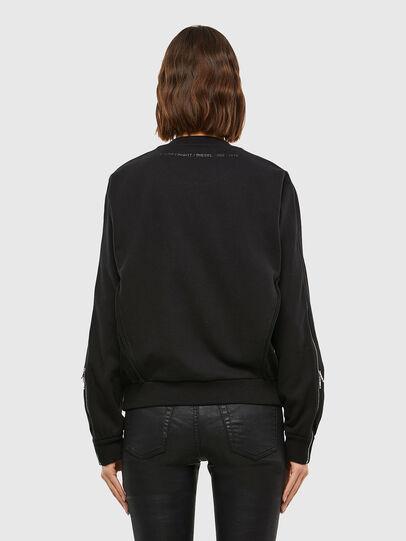 Diesel - F-ROSETTA, Black - Sweatshirts - Image 2