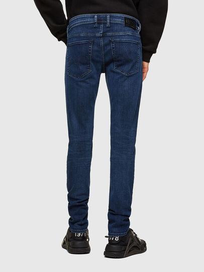 Diesel - Sleenker Skinny Jeans 009QI, Dark Blue - Jeans - Image 2