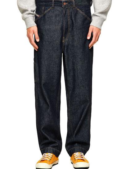 Diesel - D-Franky Straight Jeans 009HP, Dark Blue - Jeans - Image 1