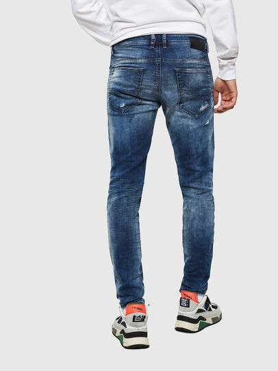 Diesel - Thommer JoggJeans 0685I, Medium Blue - Jeans - Image 2