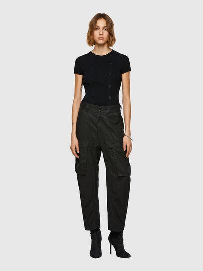 Diesel - D-Emma Boyfriend Jeans 069WX, Black/Dark Grey - Jeans - Image 5