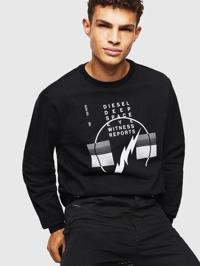 Diesel - S-GIRK-J2, Black - Sweatshirts - Image 4