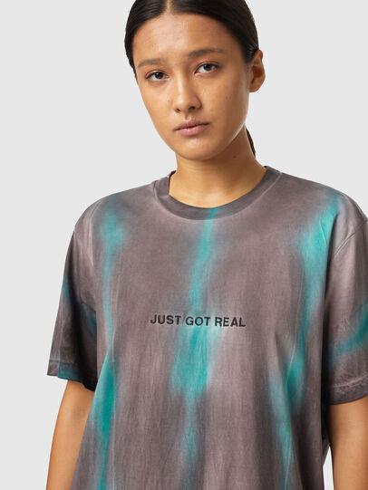 Diesel - T-JUST-B52, Rosa/Verde - Camisetas - Image 6