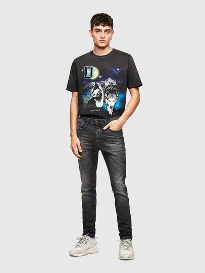 Diesel - D-Reeft Skinny JoggJeans® 009SU, Black/Dark Grey - Jeans - Image 5