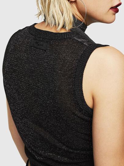 Diesel - M-TWINS, Black - Sweaters - Image 4