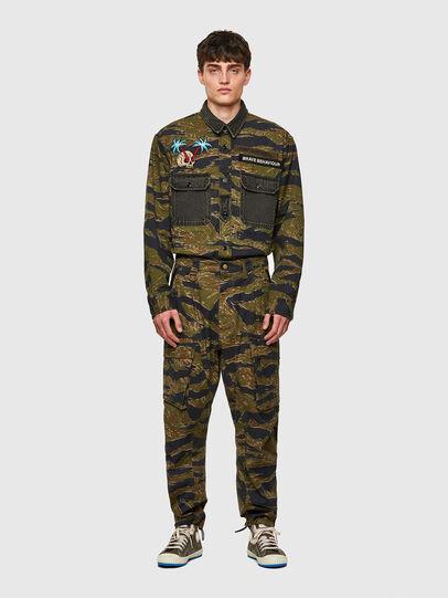 Diesel - P-BARTON, Verde Militar - Pantalones - Image 6