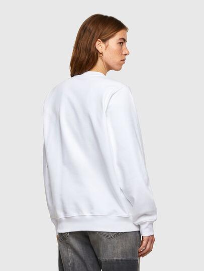 Diesel - F-ANG-SMALLOGO, White - Sweatshirts - Image 2