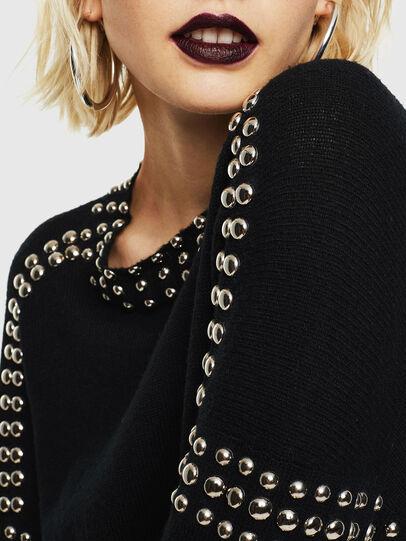 Diesel - M-KRIPX, Black - Sweaters - Image 3