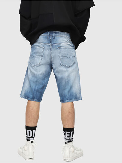 Diesel - THOSHORT, Medium Blue - Shorts - Image 2