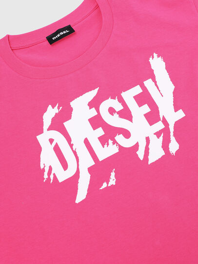 Diesel - TLUCAS MC, Pink - T-shirts and Tops - Image 3