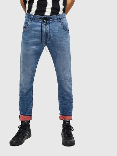 Diesel - Krooley JoggJeans 069MA, Medium Blue - Jeans - Image 1