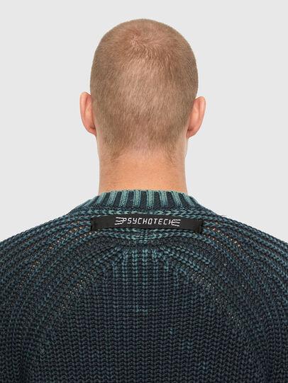 Diesel - K-LIAM, Dark Blue - Sweaters - Image 4