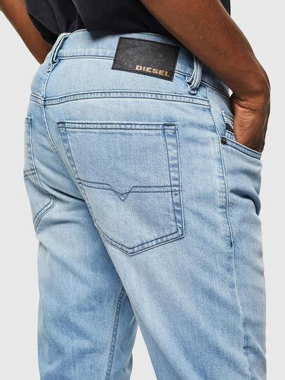 Diesel - D-Luster 0095U, Light Blue - Jeans - Image 4