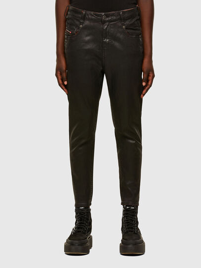 Diesel - Fayza JoggJeans 069PG, Black/Orange - Jeans - Image 1