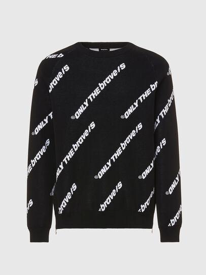 Diesel - K-DAVIS, Black - Sweaters - Image 1