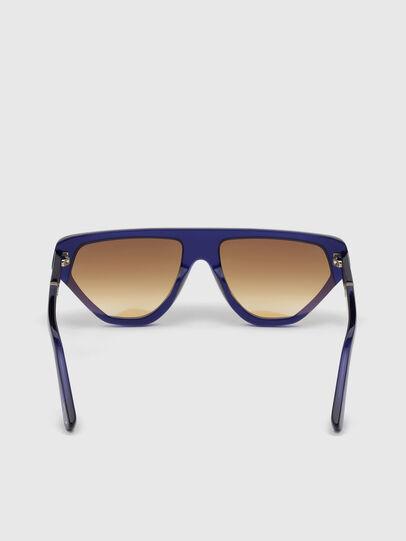 Diesel - DL0322, Azul - Gafas de sol - Image 4