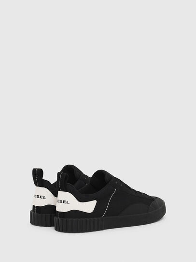 Diesel - S-BULLY LC, Black - Sneakers - Image 3