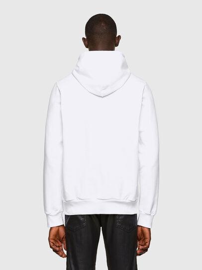 Diesel - S-GIRKEL-HOOD-A60, White - Sweatshirts - Image 2