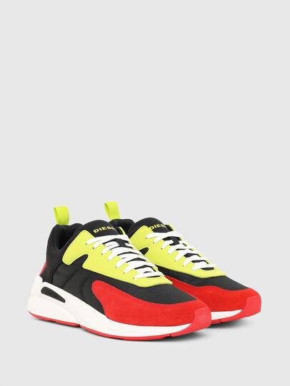 Diesel - S-SERENDIPITY LOW CU, Black/Red - Sneakers - Image 2