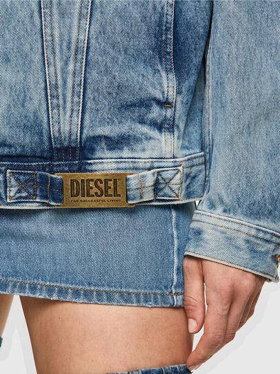 Diesel - NHILL-C1, Azul Claro - Chaquetas de denim - Image 6