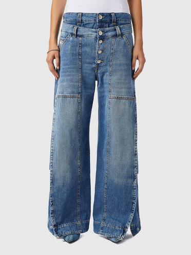 Wide Leg Jeans - D-Laly