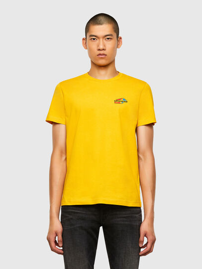Diesel - T-DIEGOS-K36, Yellow - T-Shirts - Image 1