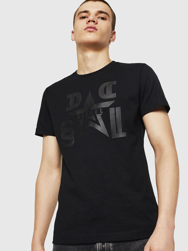 T-DIEGO-A8, Black - T-Shirts