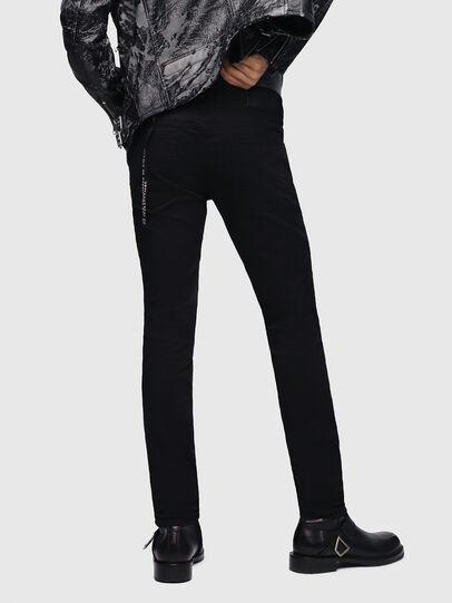 Diesel - Sleenker 069EI, Black/Dark Grey - Jeans - Image 2