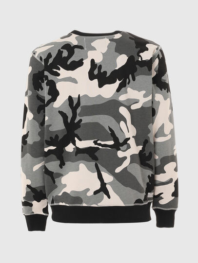 Diesel - UMLT-WILLY, Grey/Black - Sweatshirts - Image 2