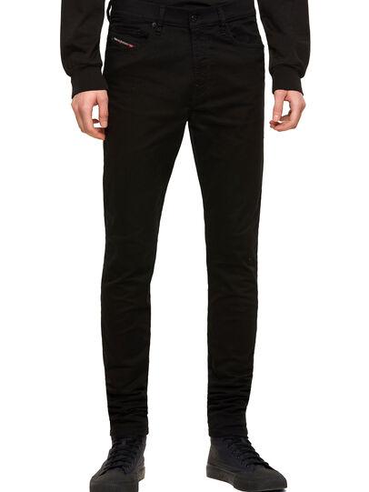 Diesel - D-Amny Skinny Jeans 069EI, Black/Dark Grey - Jeans - Image 1