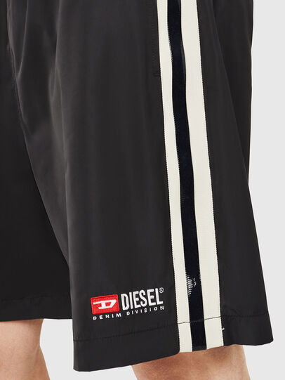 Diesel - P-BOXIE, Black/White - Shorts - Image 3